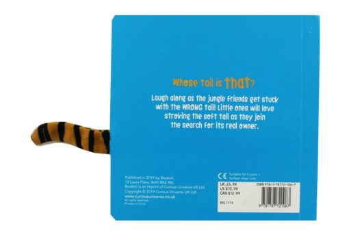 Whose Tail Jungle 9781787721067 back cover
