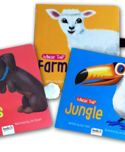 Whose tail boardbooks Set of 3 covers
