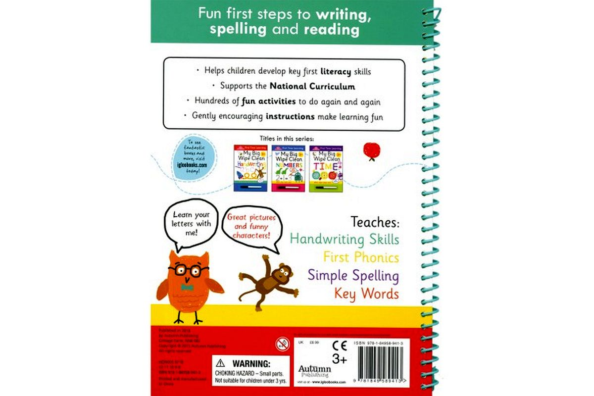 Easy as ABC - a wipe-clean activity book