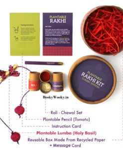 Lumba for Bhabhi Classic Kit Eco-friendly and Plantable contents