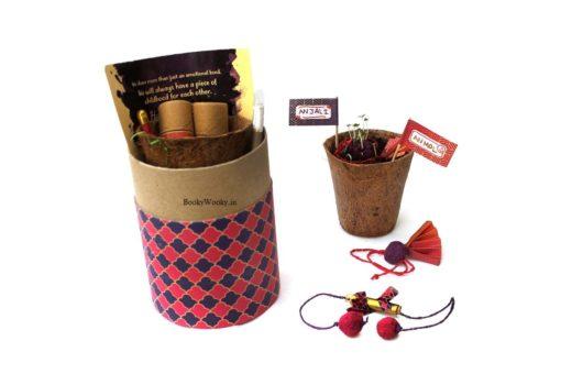 Luxury Kit for Bhabhi with Lumba and Rakhi