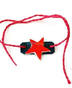 Plantable Rakhi with Seeds for Kids - Star Shape