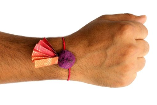 Rakhi on Adult Hand