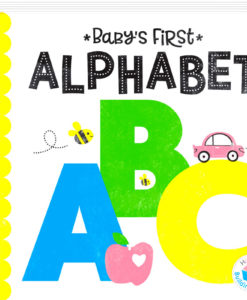 Babys First Alphabet ABC Hinkler Building Blocks Neon 9781488915048