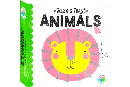 Babys First Animals Hinkler Building Blocks Neon 9781488914928