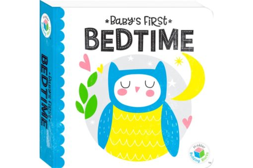 Babys First Bedtime Hinkler Building Blocks Neon 9781488914867