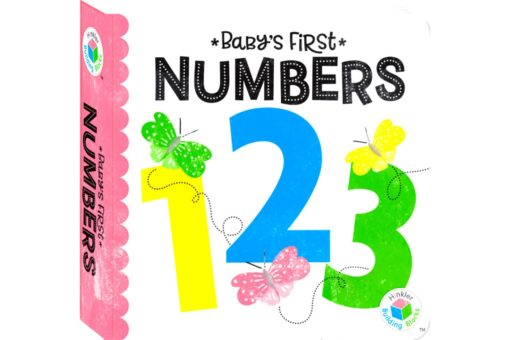 Babys First Numbers 123 Hinkler Building Blocks Neon 9781488914980