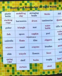 Naisha at Playschool 9789387340077 vocabulary