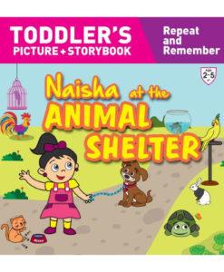 Naisha at the Animal Shelter 9789387340114