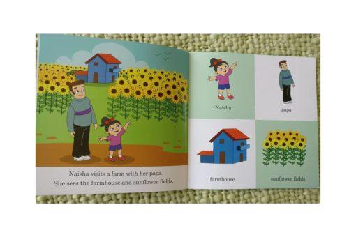 Naisha at the Farm 9788184995435 inside