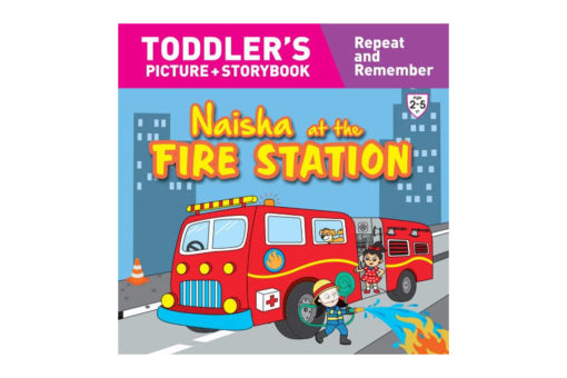 Naisha at the Fire Station 9789387340053