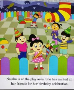 Naisha at the Play Area 9789387340015 - inside 1