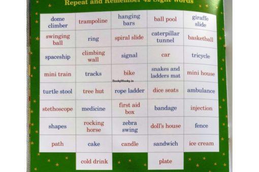 Naisha at the Play Area 9789387340015 vocabulary words