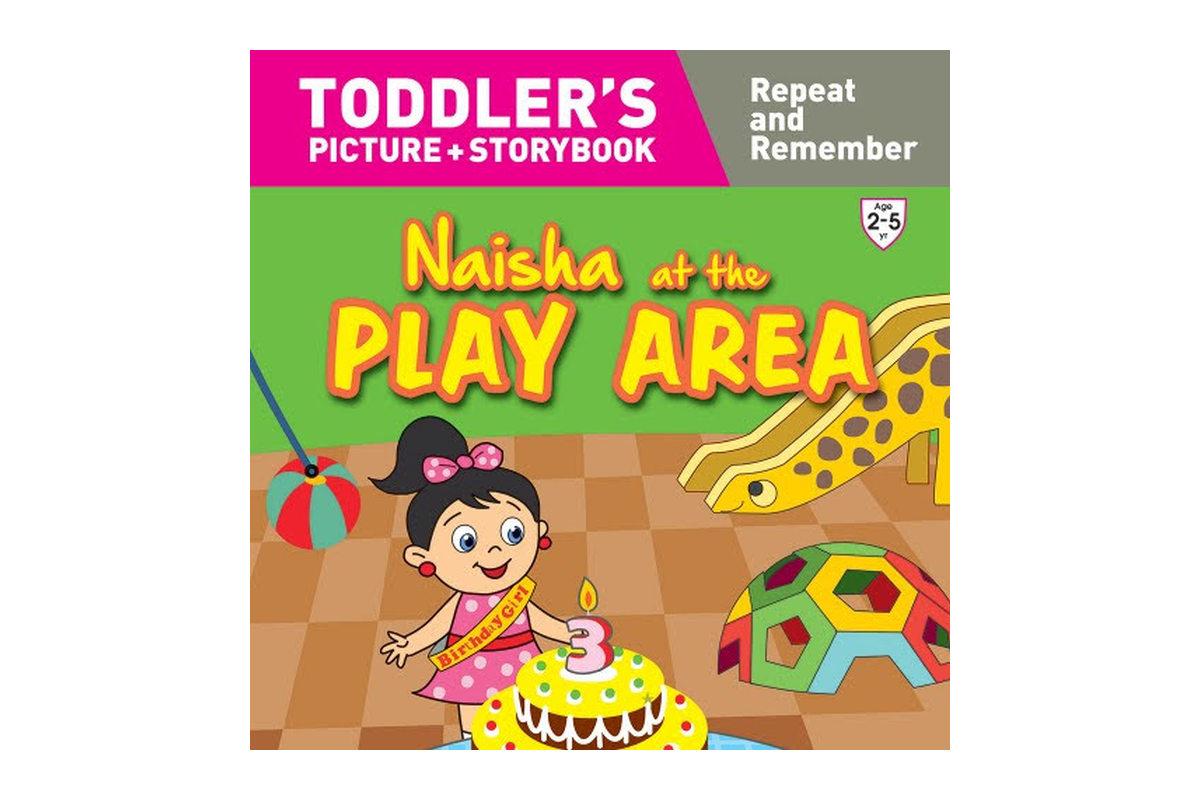 Naisha at the Play Area 9789387340015