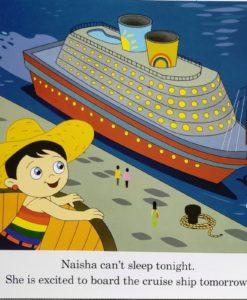 Naisha on a Cruise 9789387340008 - inside 1