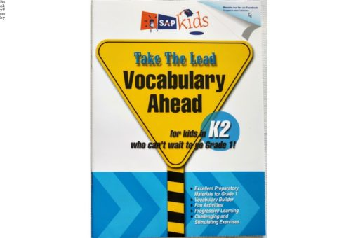 Sap Kids Take the Lead Vocabulary ahead K2 cover