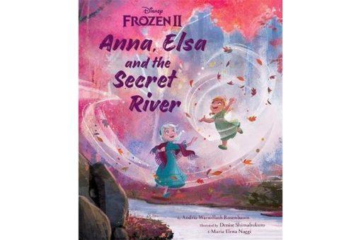 Disney Frozen 2 Anna Elsa and the Secret River 9781838526160