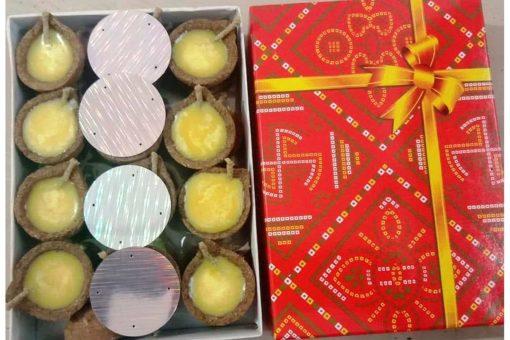 Organic Diwali Diyas - With Ghee Diyas (1)