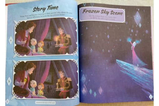 Frozen 2 1001 Stickers 9781789055498 Inside photos (5)