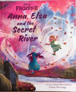 Frozen 2 Anna Elsa and the Secret River 9781838526160 inside photos (1)