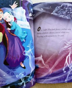 Frozen 2 Anna Elsa and the Secret River 9781838526160 inside photos (2)
