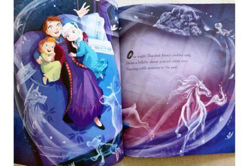 Frozen 2 Anna Elsa and the Secret River 9781838526160 inside photos (2)