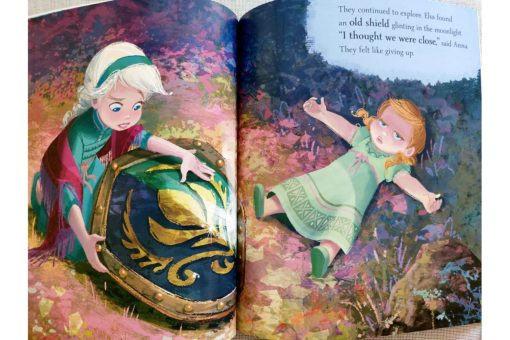 Frozen 2 Anna Elsa and the Secret River 9781838526160 inside photos (4)