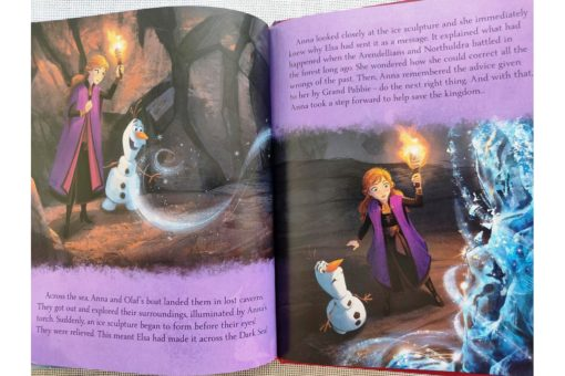 Frozen 2 Book of the Film 9781789055542 inside photos (6)