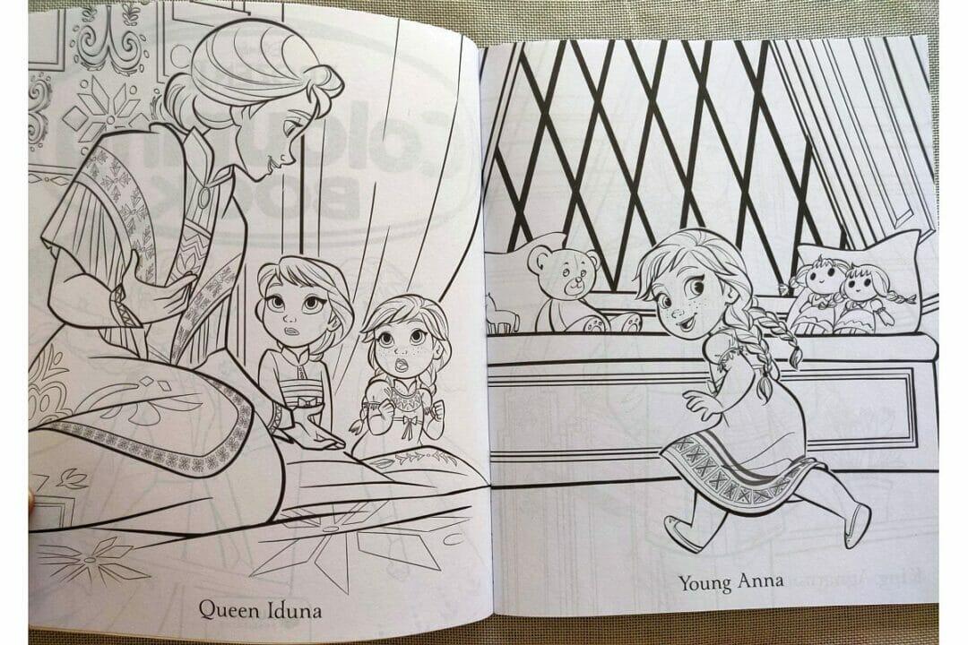 Disney Frozen 2 Colouring Book