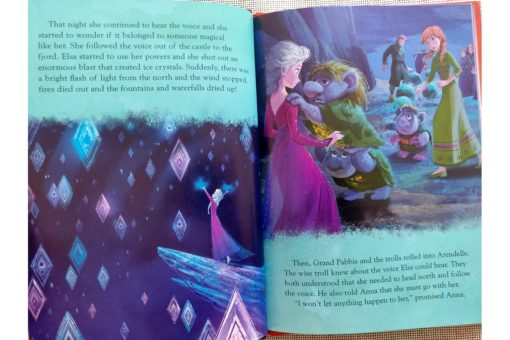 Frozen 2 Magical Story 9781789055474 inside photos (3)