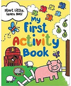 My First Activity Book Parragon 9781472391643