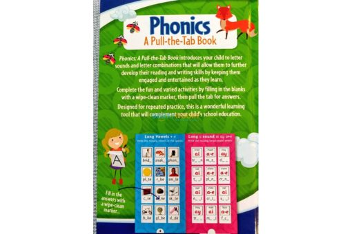 Phonics a Pull the tab book 9781488940910 back