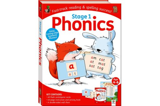 Stage 1 Phonics Kit by Hinkler 9781488934704