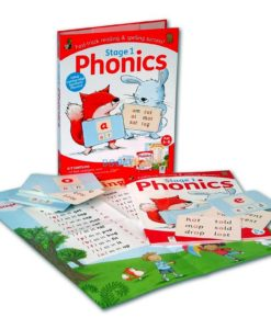 Stage 1 Phonics Kit by Hinkler 9781488934704 contents