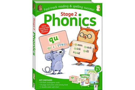 Stage 2 Phonics Kit by hinkler 9781488934667