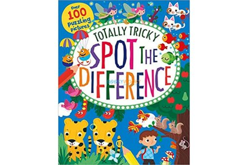 Totally Tricky Spot the Difference 9781474895354