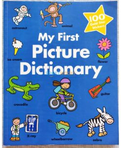 My First Picture Dictionary 100 Gold Stars 9781474833790 cover