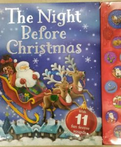 The Night Before Christmas Sound Book 9781785577710 - cover