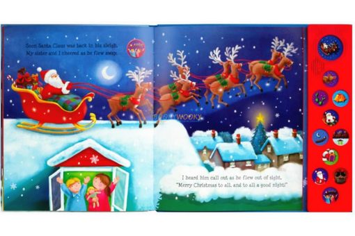 The Night Before Christmas Sound Book 9781785577710 - inside1