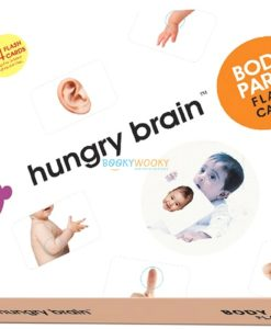 Body Parts Flashcards cover by Hungry Brain
