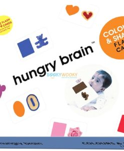 Colours & Shapes Flashcards cover by Hungry Brain