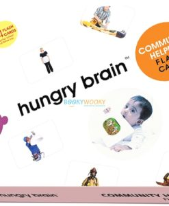 Community Helpers Flashcards cover by Hungry brain
