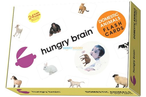 Domestic Animals Flashcards cover by Hungry Brain