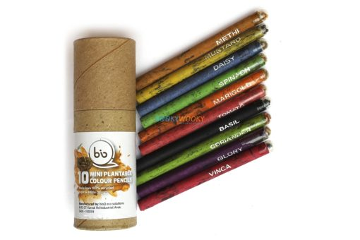 Eco-friendly Coloured Seed Pencils (10 mini) Main