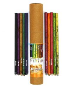 Eco-friendly Coloured Seed Pencils (Box of 10 coloured pencils) main
