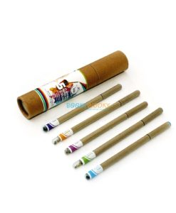 Eco-friendly Coloured Seed Pens (Box of 5) main