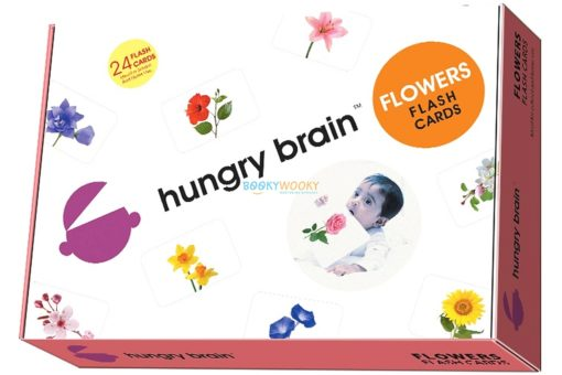 Flowers Flashcards cover by Hungry brain