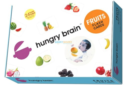 Fruits Flashcards cover by Hungry Brain