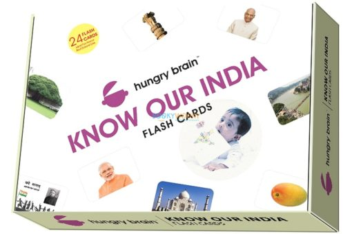 Know Our India Flashcards cover by Hungry Brain
