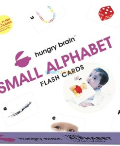 Small Alphabets Flashcards cover by Hungry Brain
